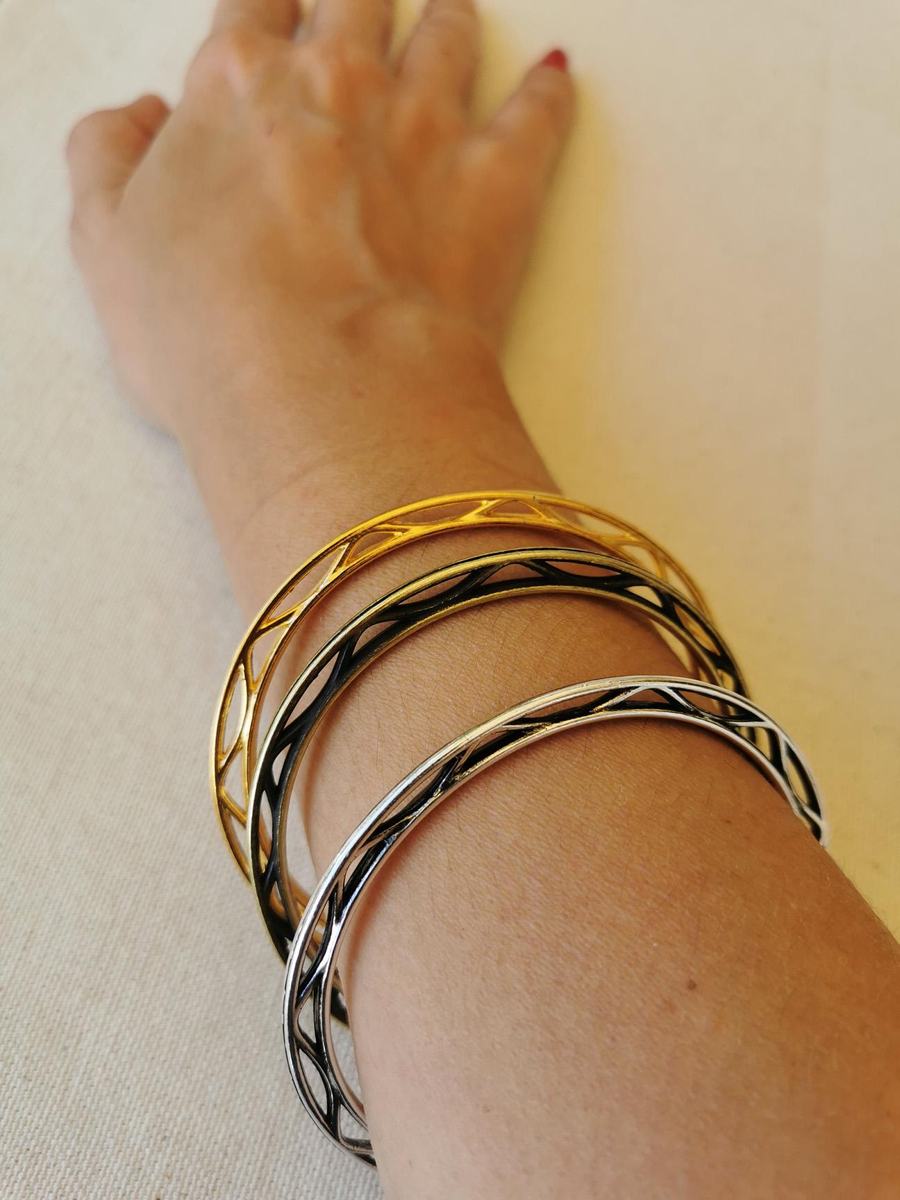Μεταλλικά βραχιόλια Circle f & l accessories - Μπρονζέ